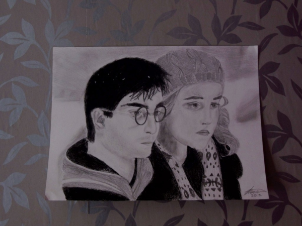 Daniel Radcliffe, Emma Watson by EvilDream